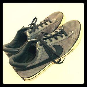 Nike denim skate shoes size 13 Nike forces